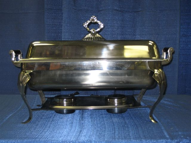 Crown Chafing Dish 8 .qt - Click Image to Close