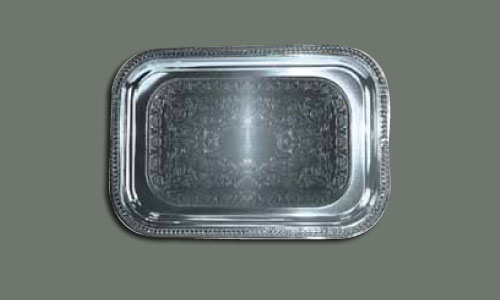 Stainless Oblong Tray
