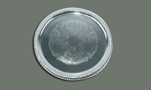 Stainless Round Tray